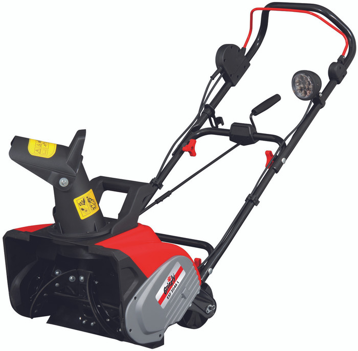 Grizzly ESF 2046 L Electric Snow Thrower Blower Shovel with LED