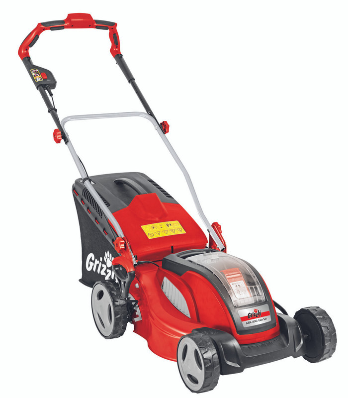 Grizzly ARM 4041 A Cordless Battery Lawn Mower - 40v range