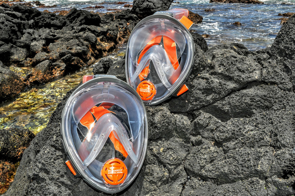 ARIA Snorkeling Mask GREY