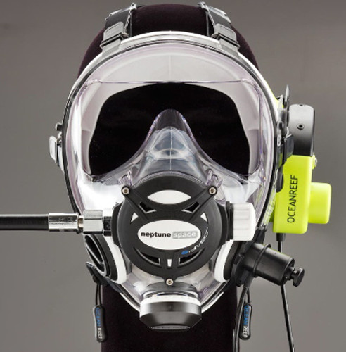 G.divers Full Face Mask + GSM G.divers - White