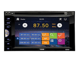 DD620 6.2″ DOUBLE DIN DVD PLAYER WITH USB & BLUETOOTH
