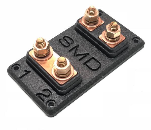 SMD Heavy Duty Double ANL Fuse Block Copper