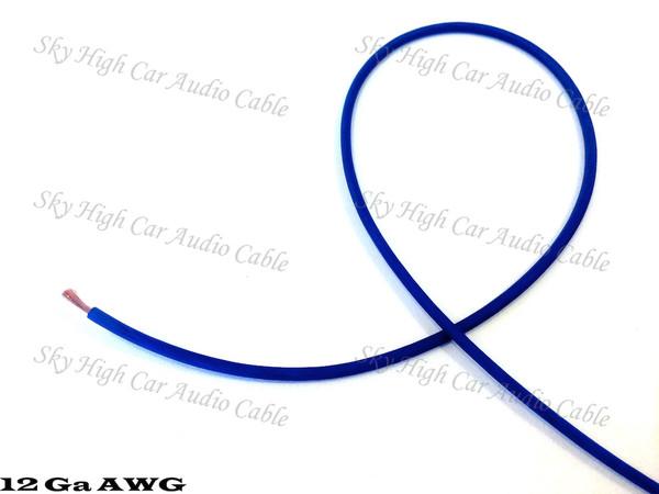Sky High Car Audio CCA 18 Gauge Primary Wire - 100ft Spool