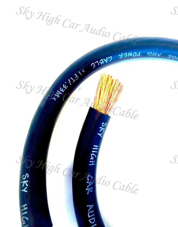 Sky High Car Audio CCA 1/0 Gauge - Spool