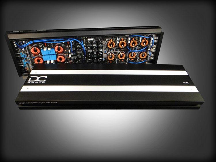 DC Audio 10.0k - 10,000w Monoblock Amplifier
