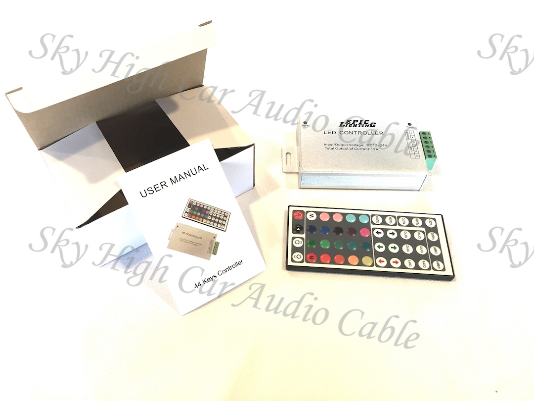 sc 1 st  Sky High Car Audio & Epic Lighting LED RGB Infrared Control Box w/ Remote