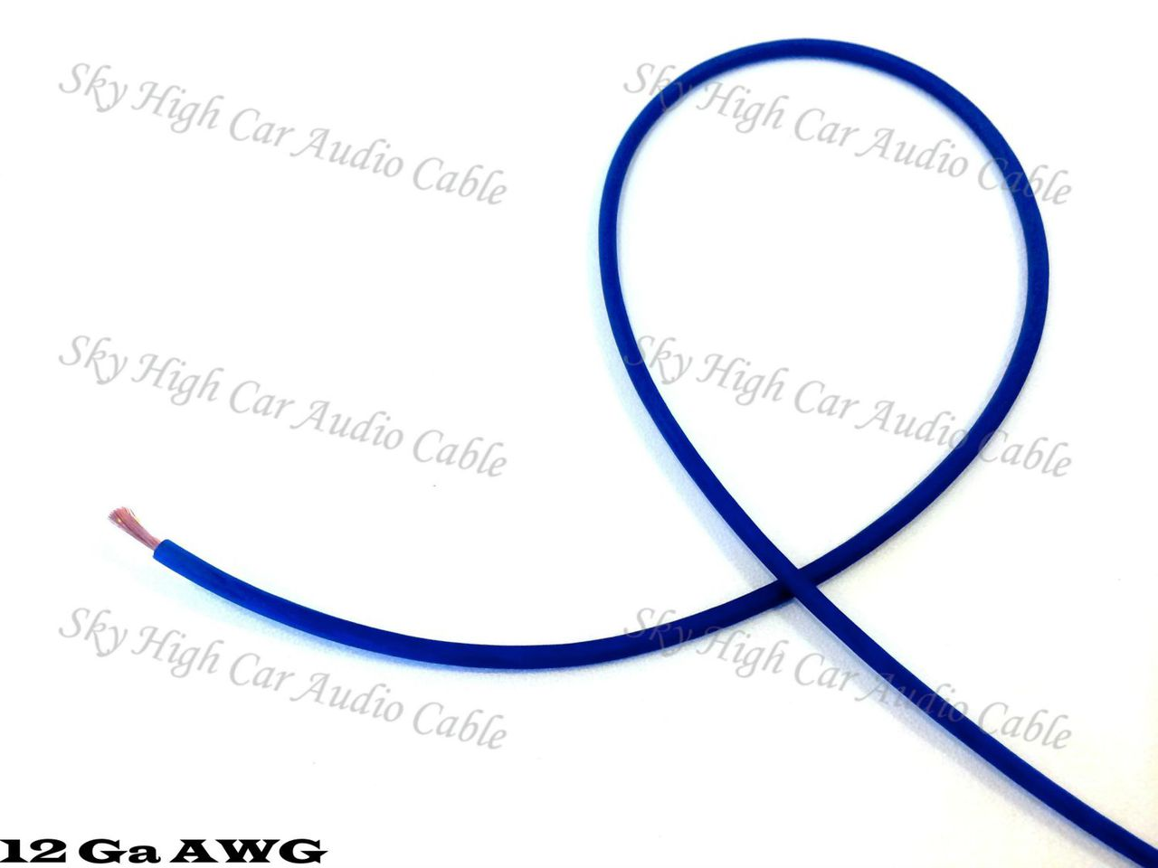 Sky High Car Audio OFC 12 Gauge Primary Wire 25ft-500ft