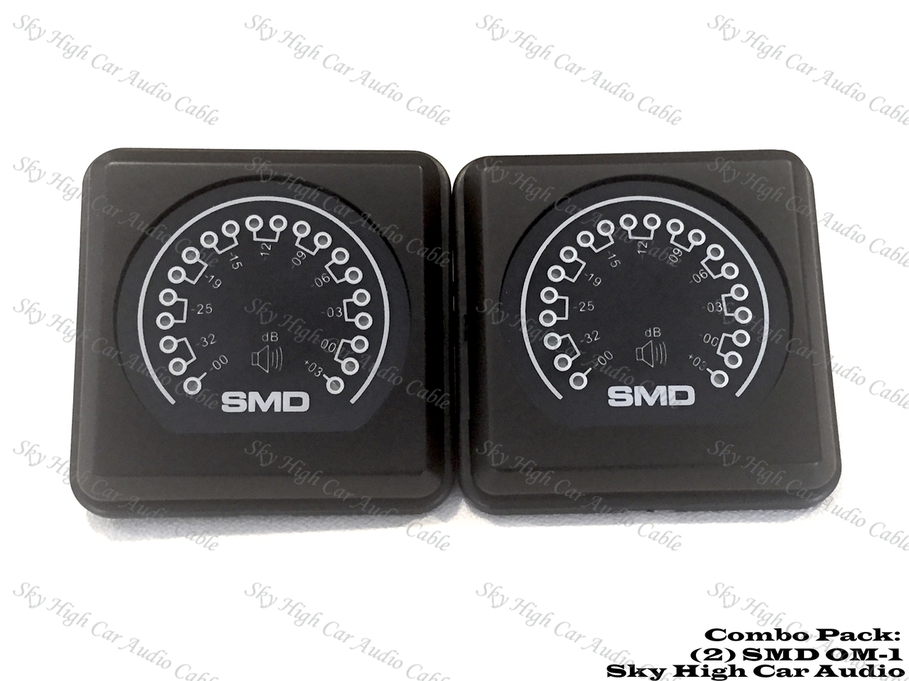 (2) SMD OM-1 COMBO PACKLED Amplifier Output METER