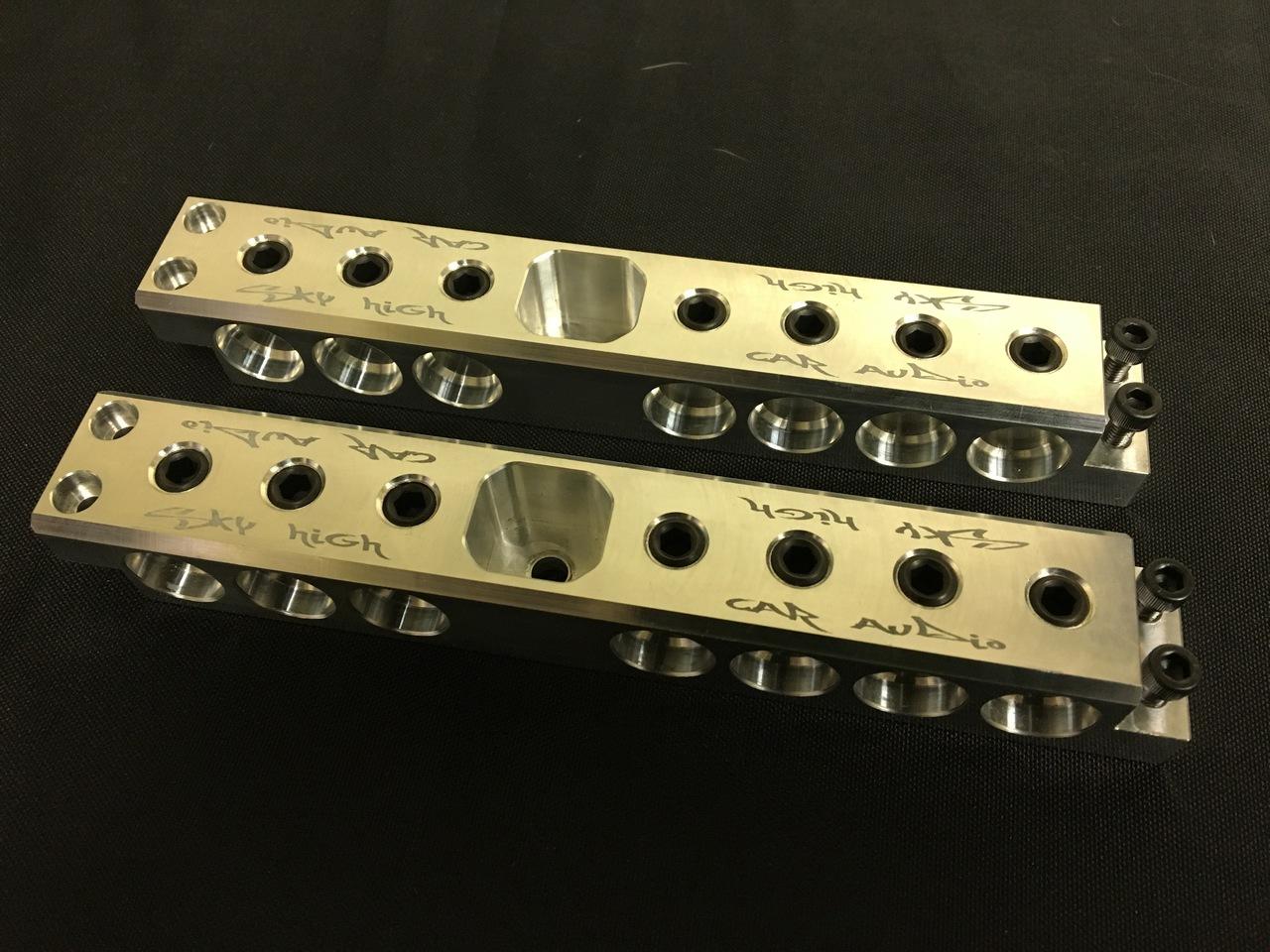 Sky high Car Audio Buss Bars Modular Section (Group 34)