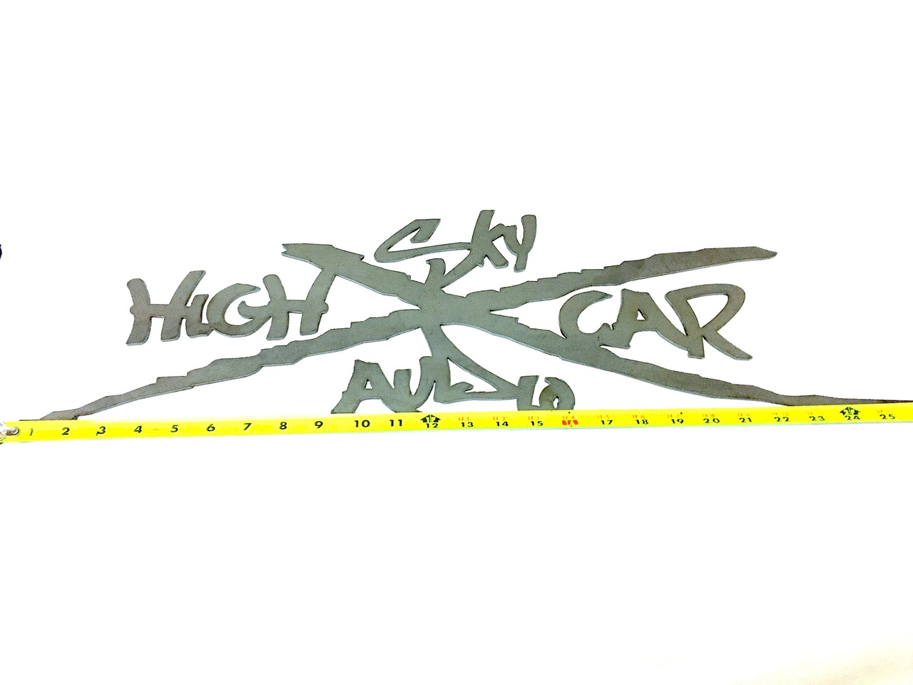 "SHCA 26"" Metal X Logo"