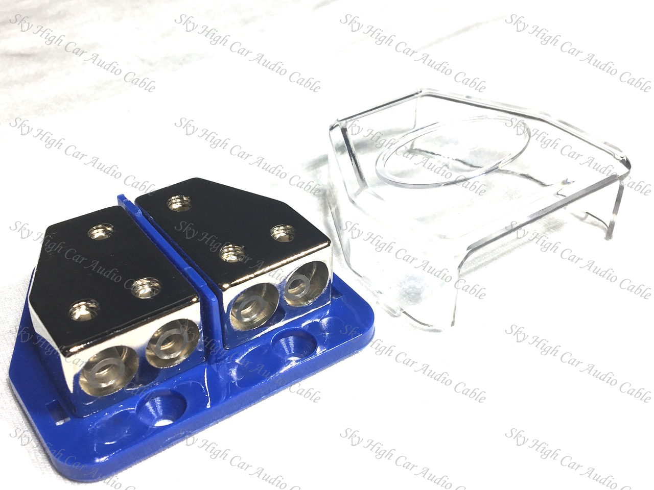 SHCA 4ga Power & Ground Split Distribution Block