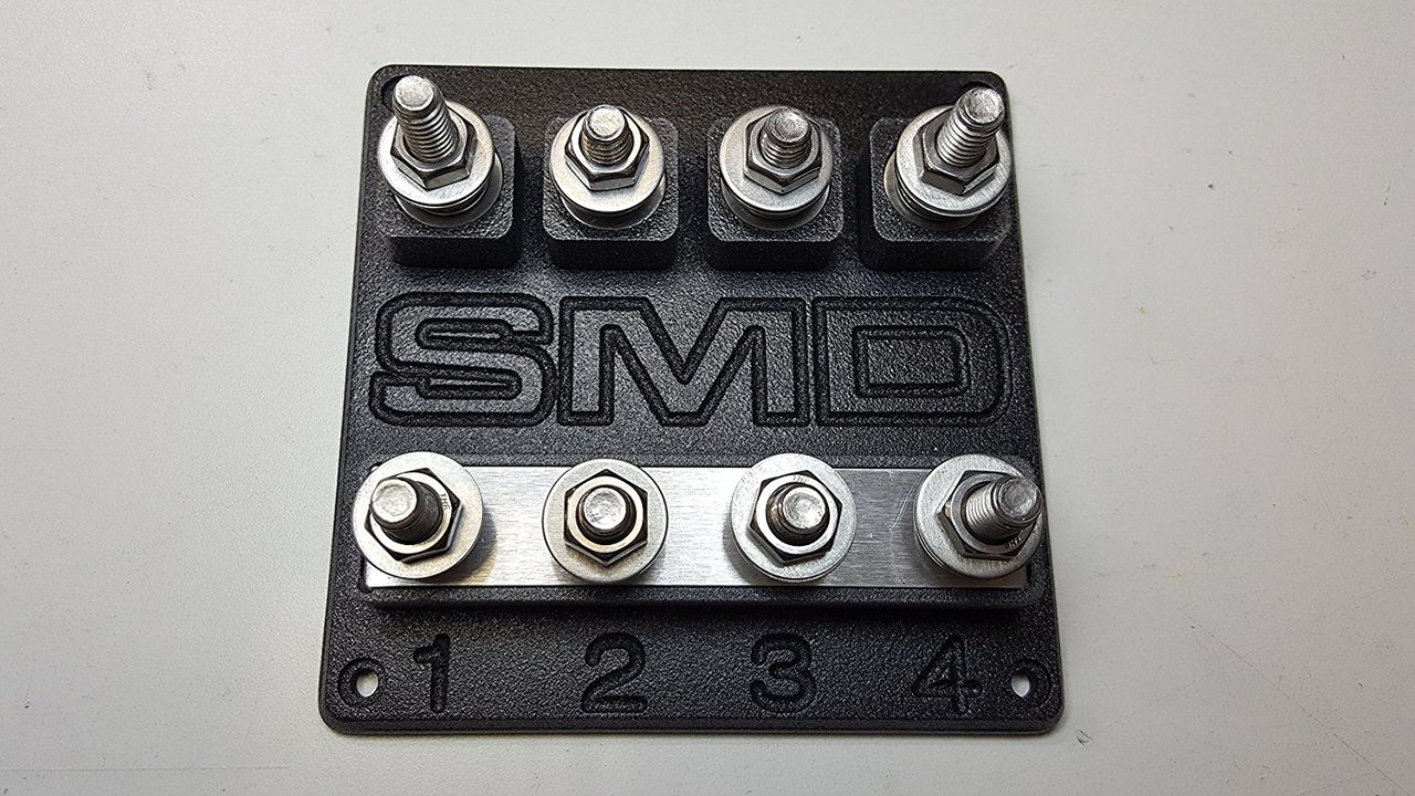 SMD Heavy Duty Quad ANL Fuse Block