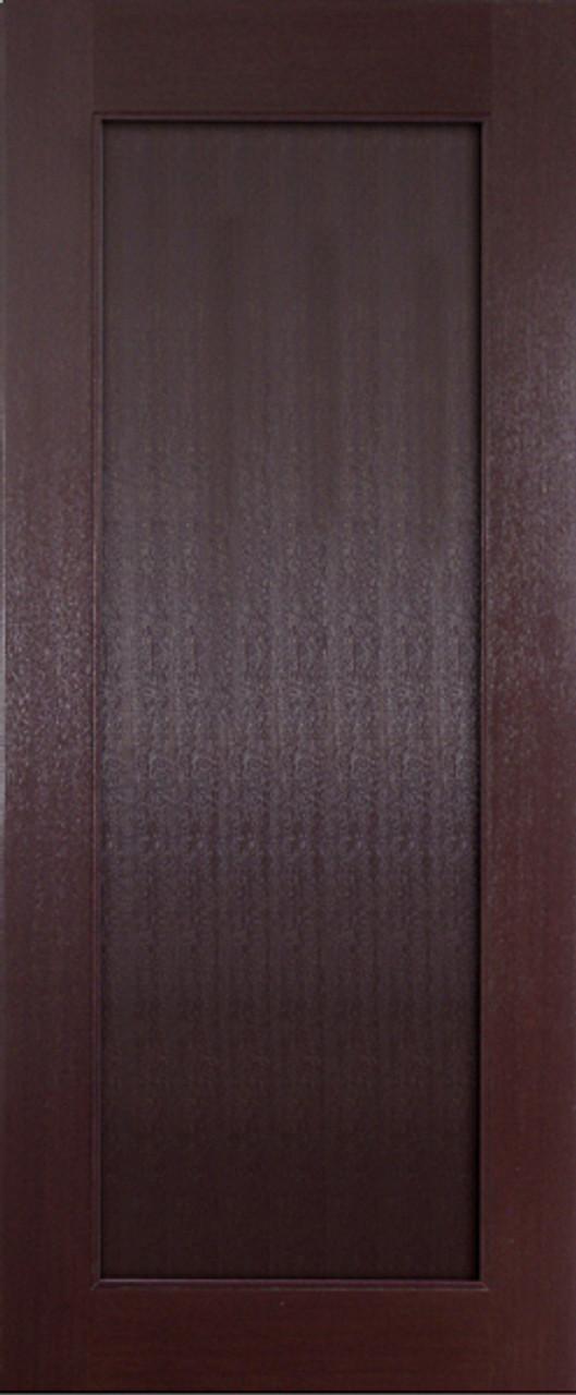 Mahogany 80 Interior Door 1 Panel Shaker Gateway Doors