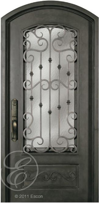 SS518WHX/34 Escon Iron Arched Door - 40\  ... & SS518WHX/34 Escon Iron Arched Door - 40\