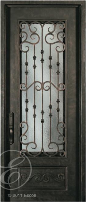 S818WHX/33 Escon Iron Door - 39\  x 96\  ... & S818WHX/33 Escon Iron Door - 39\