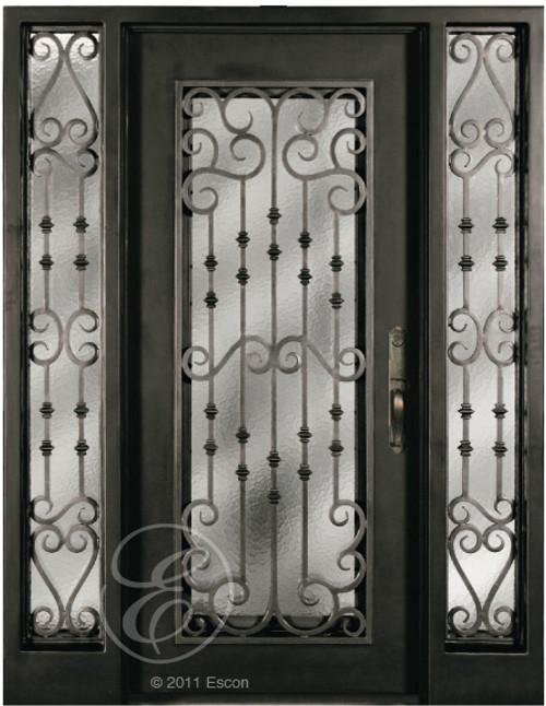 S516WHOX0/61 Escon Iron Door - 73\u201d x 81\u201d & S516WHOX0/61 Escon Iron Door - 73\u201d x 81\u201d - Gateway Doors