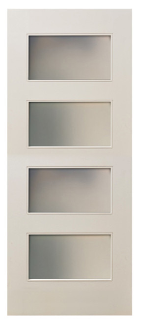 interior frosted glass door. MDF White Primed 80\ Interior Frosted Glass Door