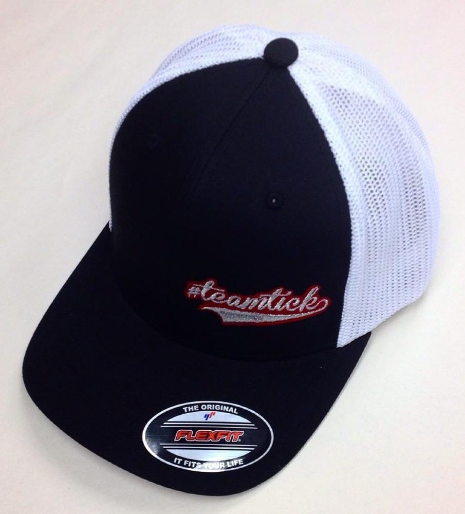 Official #TeamTick Trucker FlexFit Hat, Curved Bill