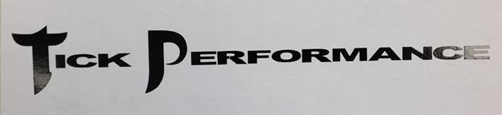 Tick Performance Rectangle Decal