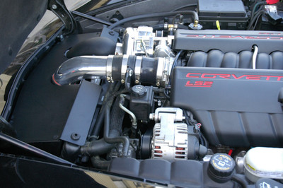 A&A Corvette Supercharger Installed & Tuned Package for 2005-2007 Corvette (LS2)