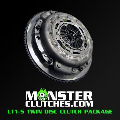 Monster LT1-S Twin Disc Clutch and Flywheel Package (Torque Capacity: 700)