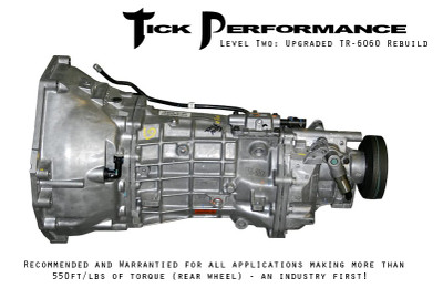 Tick Performance Level 2 Upgraded TR-6060 Rebuild (550RWTQ and up) for 2007-2014 Ford Mustang Shelby GT500