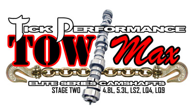 Tick Performance towMAX Stage 2 Camshaft for 4.8L, 5.3L, LS2, LQ4 & LQ9 Engines