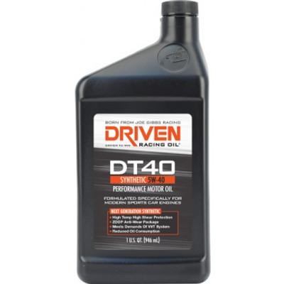 Joe Gibbs DRIVEN DT40 - High Zinc Synthetic 5w-40 Quart, Part #JGR-02406