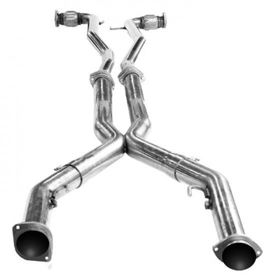 """Kooks 3"""" x OEM Off Road X-Pipe for 2011-2017 Caprice PPV #25203100"""