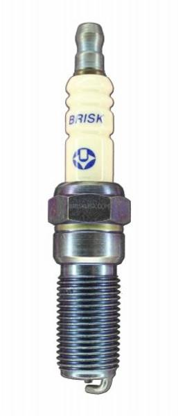 Brisk GenV Spark Plug (RR15S) Silver Racing Plug (NGK 6)
