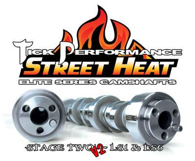 Tick Performance Street Heat Stage 2 V2 Camshaft for LS1 & LS6 Engines