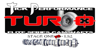 Tick Performance Turbo Stage 1 V2 Camshaft for LS2 Engines