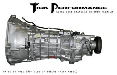 Tick Performance Level 1 Standard TR-6060 Rebuild (550RWTQ) for 2009+ Challenger R/T & SRT8