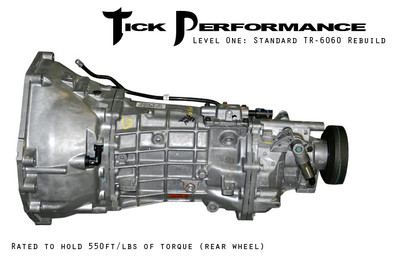 Tick Performance Level 1 Standard TR-6060 Rebuild (550RWTQ) for 2009 Pontiac G8 GXP