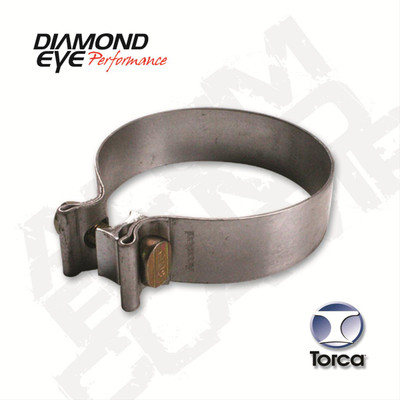 Diamond Eye Performance Exhaust Band Clamp 2.500 in. Diameter