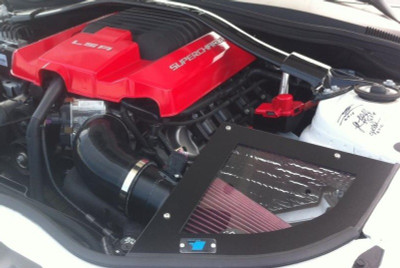 Cold Air Inductions Intake System (Black Textured Powder Coated) for 2012-14 Camaro ZL1 6.2L