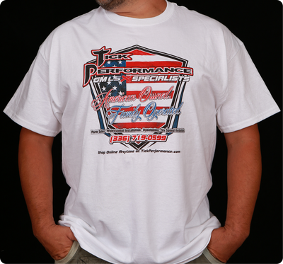Tick Performance American Owned, Family Operated T-Shirt
