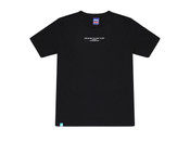 Black Short Sleeved T-shirt with Embroidered UK Born Logo