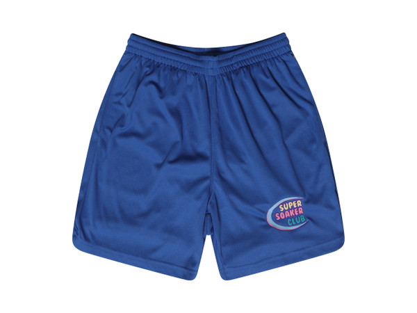 Dream But Do Not Sleep Blue Shorts Super Soaker Embroidery