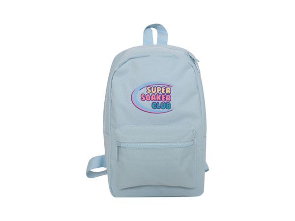 Dream But Do Not Sleep Blue  Mini Backpack Super Soaker Embroidery