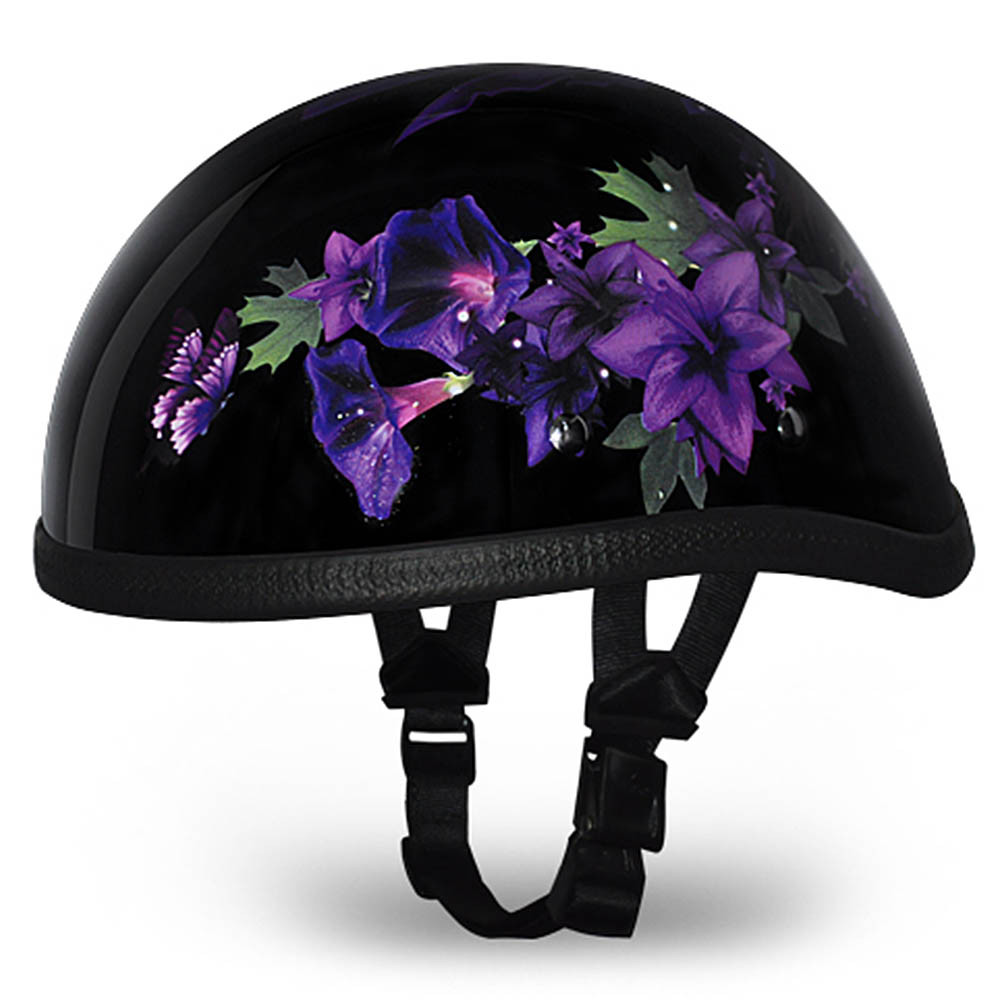 Ladies   Womens Fairy Novelty Motorcycle Helmet by Daytona - Size XS-2XL