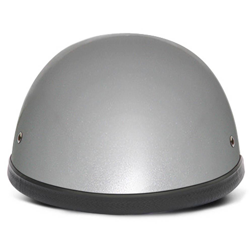 Silver Metallic Novelty Motorcycle Helmets   Novelty Helmet by Daytona XS-2XL