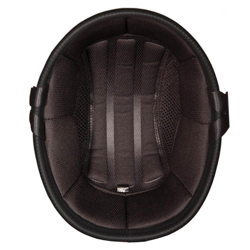 White Novelty Motorcycle Helmet | Eagle Novelty Helmet - Daytona XS S M L XL 2XL