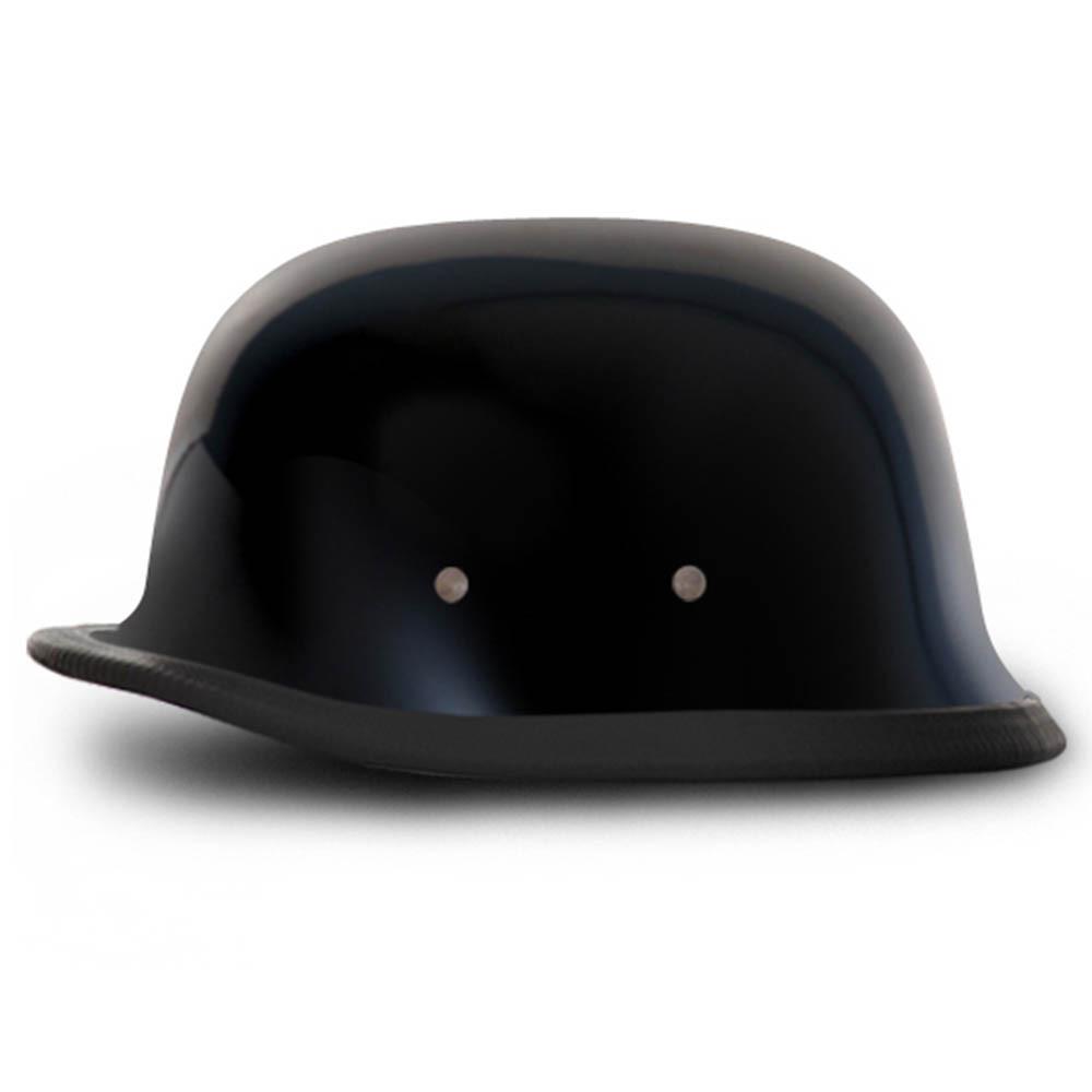 Gloss Black German Novelty Helmet | Novelty Motorcycle Helmet by Daytona XS-2XL