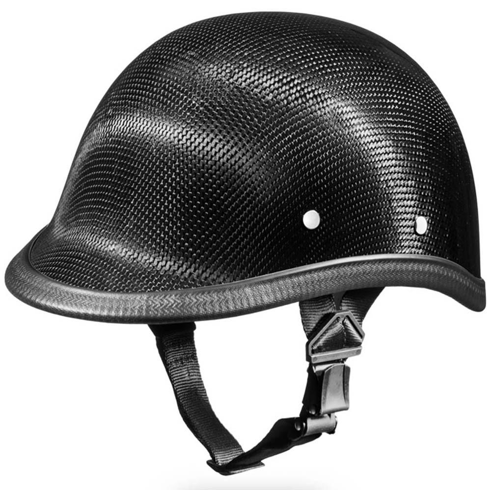 Real Carbon Fiber Hawk Novelty Motorcycle Helmet by Daytona XS S M L XL 2XL