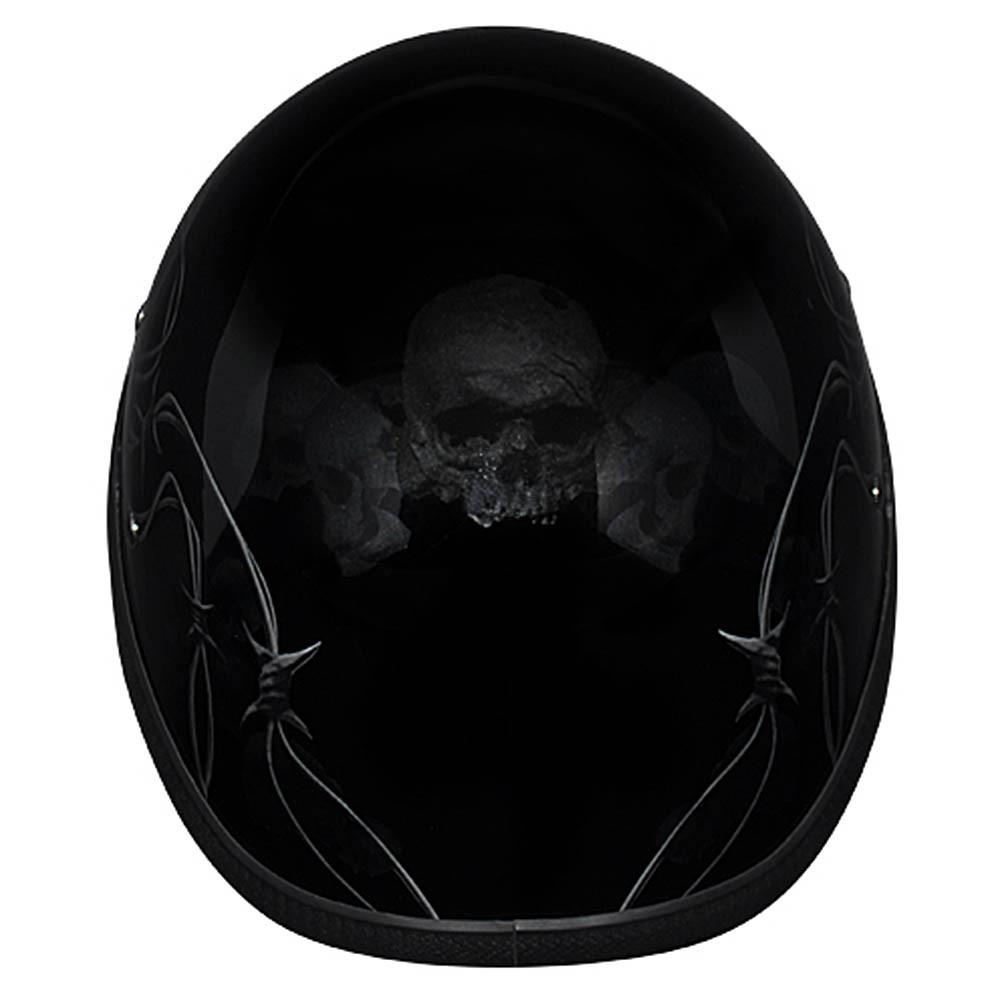 Barbed Skulls Eagle Novelty Helmet | Novelty Helmets by Daytona XS S M L XL 2XL