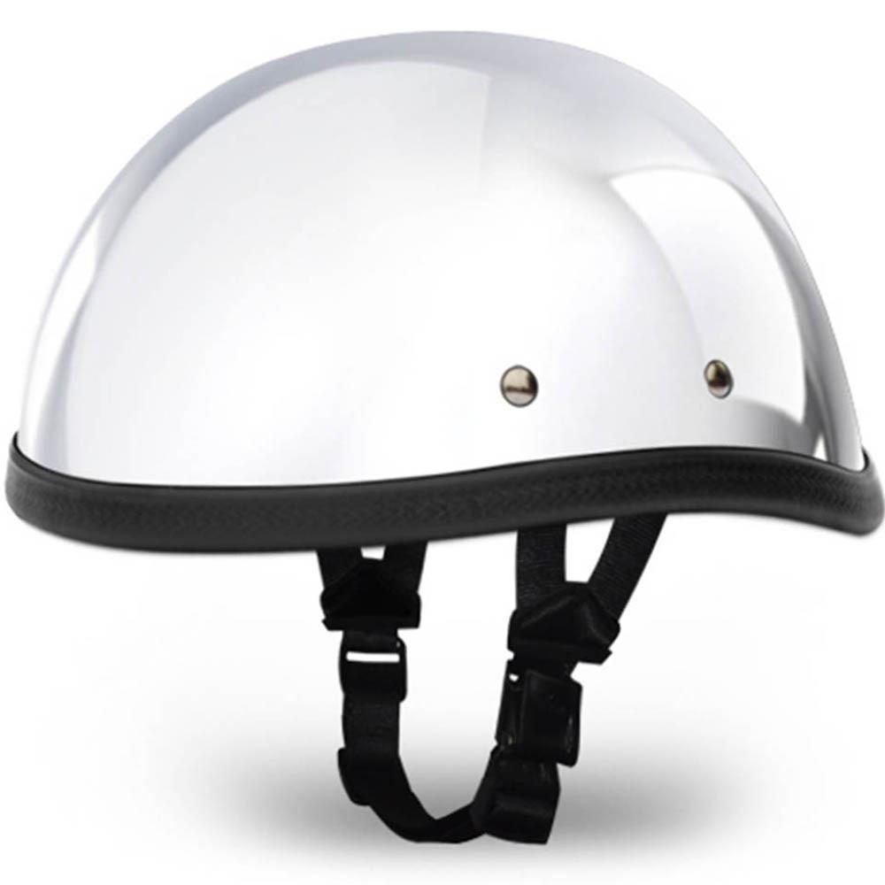 Real Chome - Eagle Novelty Motorcycle Helmet - by Daytona - Size XS S M L XL 2XL