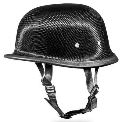 Real Carbon Fiber German Novelty Motorcycle Helmet by Daytona XS S M L Xl 2XL