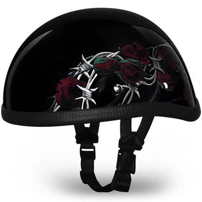 Barbed Rose Eagle Novelty Helmet | Novelty Helmets by Daytona - XS S M L XL 2XL