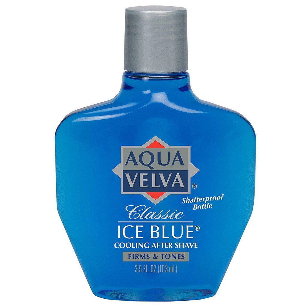 Aqua Velva After Shave, Classic Ice Blue, 3.5 Ounce